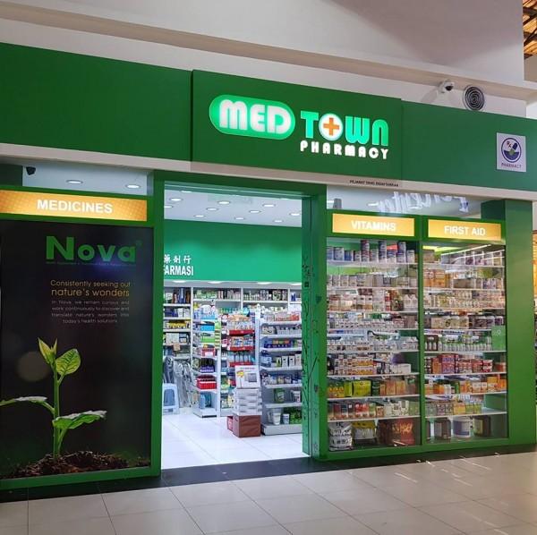 Medtown Pharmacy, Siburan